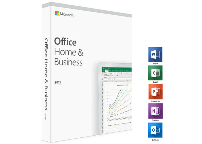 English Office Home And Business 2019 OEM , Office Home And Business Microsoft DVD Media For PC