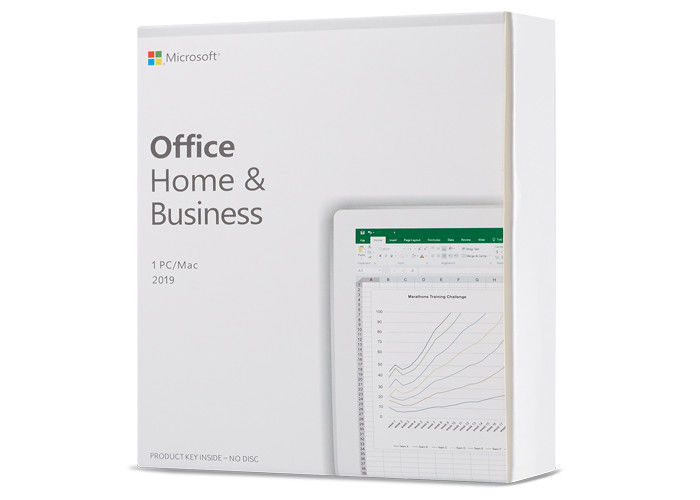 PKC Retail Box Microsoft Office 2019 Home And Business , Office Home & Business 2019 Key